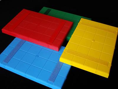 Фото цветных ячеек с пробкой