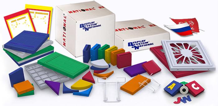 Оформление кабинета ОБЖ. Стенд-конструктор, комплектующие, упаковка.