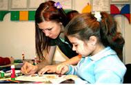 Творческий уголок для начальных классов