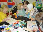 Стенды для творчества дошкольников