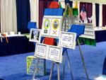 Мобильная выставка для школы