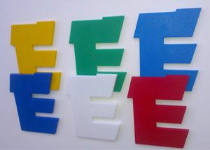 Цветные буквы