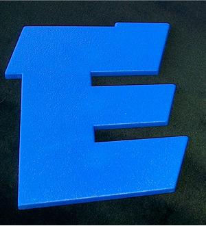 Цветные объемные буквы