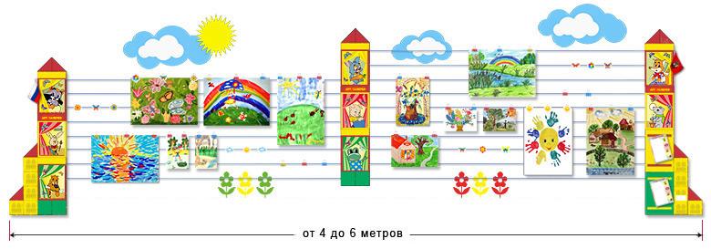 Оформление школьной выставки