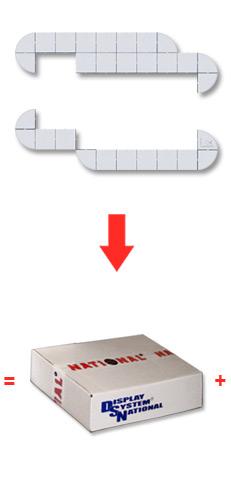 Комплект декора базового стенда
