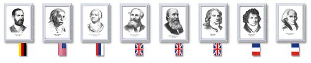 Оформление кабинета Портретами физиков