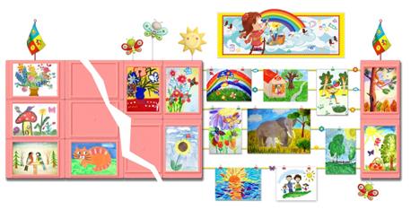 Детский сад оформление уголок патриотического воспитания картинки 6