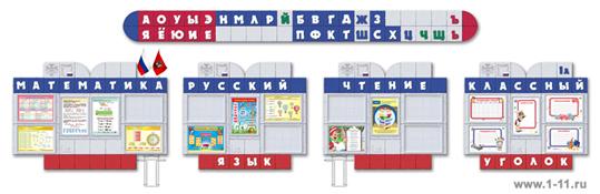 Оформление кабинета начальных классов