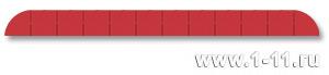 Полу-панно сборное красное
