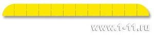 Полу-панно сборное желтое