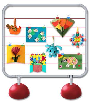 Стенды для выставок детских рисунков