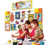 Домашняя выставка для детей 3-11 лет