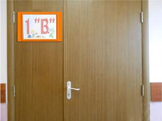 Табличка на дверь. Начальная школа